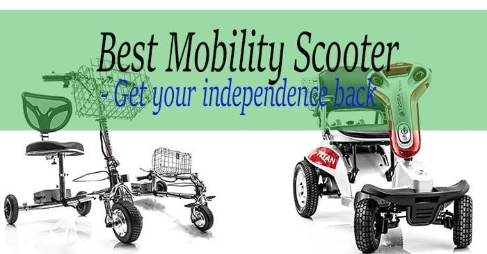 Best mobility scooter reviews - Buy back your freedom in 2018