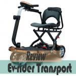 Ev-rider transport first look