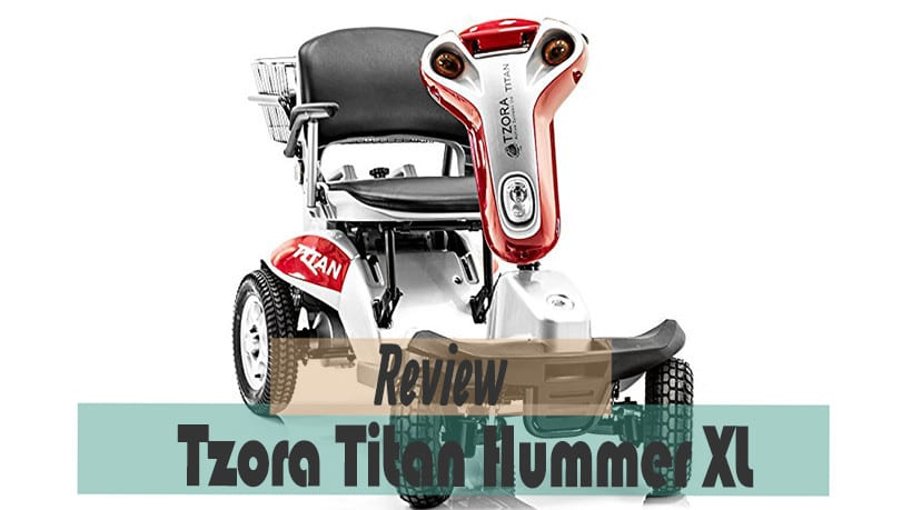 How the Tzora titan hummer xl looks