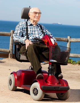 Best senior mobility scooter top models that fit elderly for Motorized scooters for seniors