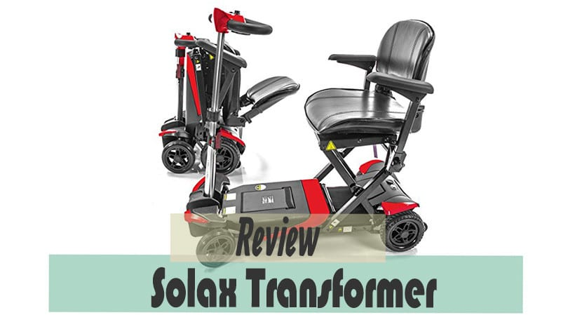 Solax transfomer automatic folding scooter