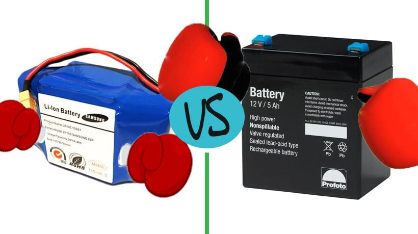 Lithium-Ion vs  Lead-Acid - Pros & Cons of what powers your ride