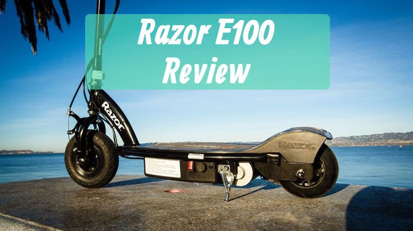 Razor E100 Review How Good Is The Cheap Razor Electric Scooter