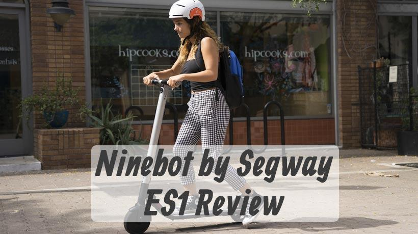 Segway ES1 Review - Digging deep into Ninebot's electric