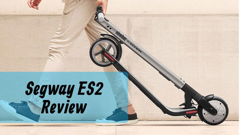 Segway ES2 Electric Scooter Review - What does it have to