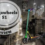 the s1 electric scooter from megawheels