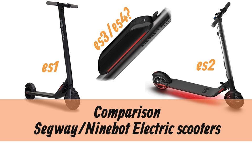 Segway/Ninebot ES1 vs ES2 vs ES3 vs ES4 - Side-By-Side