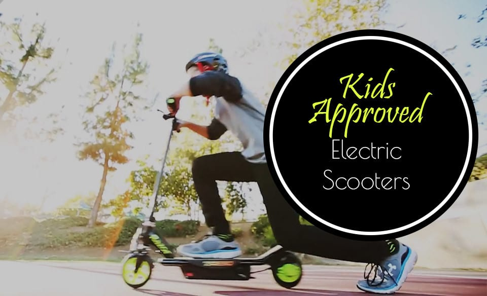 electric scooters approved by kids