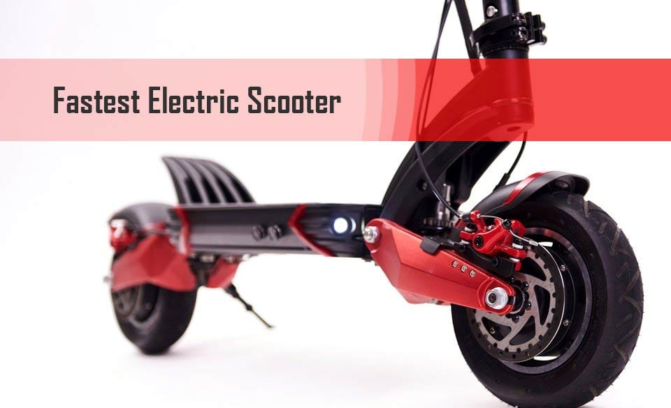 The Fastst Electric Scooters Available