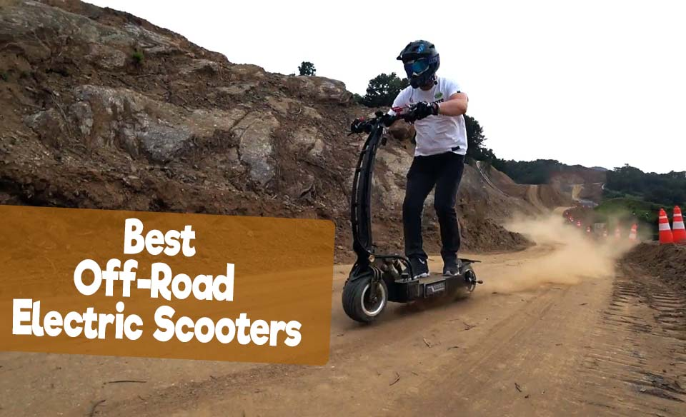 Best Off-road Electric Scooter - 5 Powerful Heavy-duty