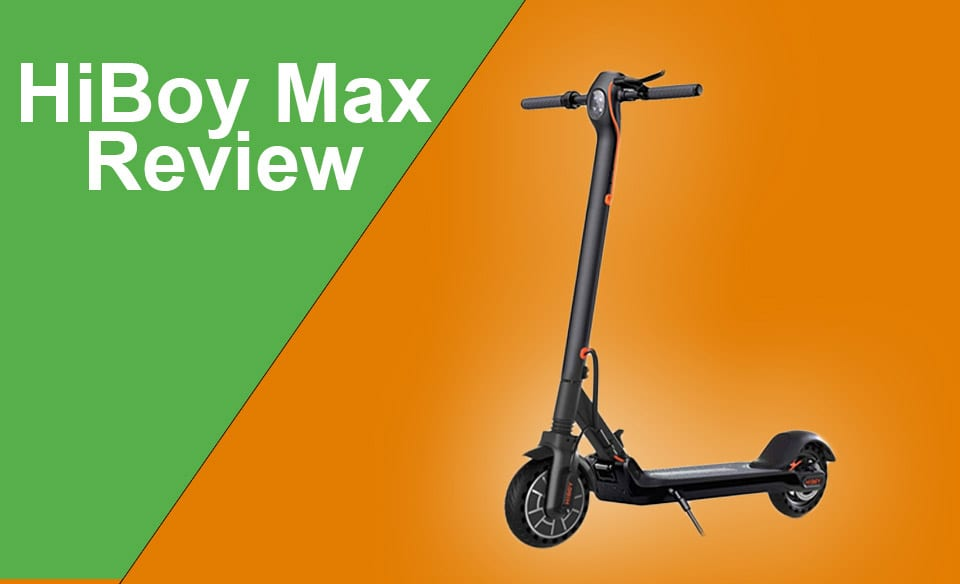 Hiboy electric scooter Max appearance