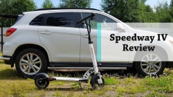 Speedway IV review – High speed electric scooter for long distance riding
